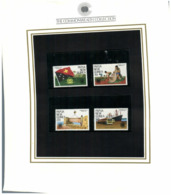 (special) The Commonwealth Collection - Mint Stamps / Timbres Neuf (size 24 X 26cm) Papua New Guinea - History