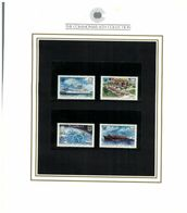 (special) The Commonwealth Collection - Mint Stamps / Timbres Neuf (size 24 X 26cm) Tuvalu - History