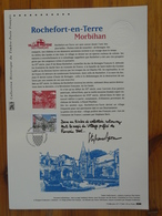 Document Officiel FDC 17-544 Chateau De Rochefort En Terre 56 Morbihan 2017 - Schlösser U. Burgen