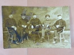 Groupe De Prisonniers (voyagé De Soltau Vers Ombret En 18) - Guerre 1914-18