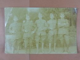 Groupe De Soldats Camp De Bourg-Léopold - Guerre 1914-18