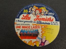 Etiquette De Fromage Fondu Les Juniors Image Laser - Cheese