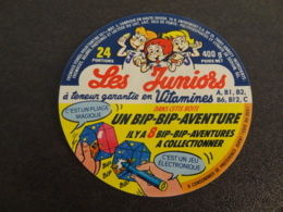 Etiquette De Fromage Fondu Les Juniors Bip Bip Aventure - Cheese