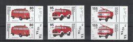 Deutschland BRD ** 3557-3559 Feuerwehrfahrzeuge 6.8.2020 - Neufs