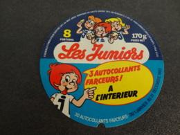 Etiquette De Fromage Fondu Les Juniors Autocollants Farceurs - Cheese