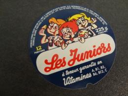 Etiquette De Fromage Fondu Les Juniors - Cheese