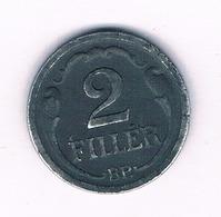 2 FILLER 1944  HONGARIJE /6065/ - Hungría