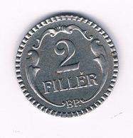 2 FILLER 1940  HONGARIJE /6066/ - Hungría