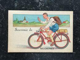 20AB  Souvenir De Seloignes Avec Griffe Postale Seloigne Monceau - Chimay