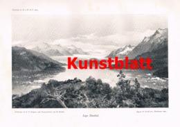 658 Hauthal Compton Argentinien Cordillere Gletscher Artikel Von 1904 !! - Nord- & Südamerika