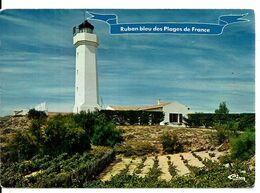85  LA TRANCHE SUR MER  Le Phare Du Grouin  Cpm Voyagée En 1977 - La Tranche Sur Mer