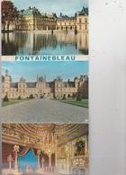 20 / 8 / 52. -  DÉPLIANT  9  CPM  DE FONTAINEBLEAU - - 5 - 99 Postcards