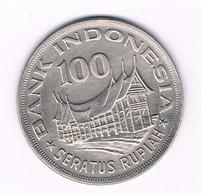100 RUPIAH  1978  INDONESIE /6072/ - Indonésie