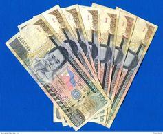 7  Billets  De  500  Piso  2007 +08+09+10+11+12+13 - Filippijnen