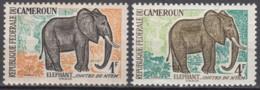 N° 340 Et N° 344 Du Cameroun - X X - ( E 376 ) - Elefantes