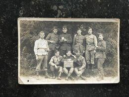 20AB  Photo Carte Vive La Classe 1916 Militaires Belges - Guerre 1914-18