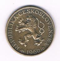 1 KORUN 1960   TSJECHOSLOWAKIJE /6076/ - Tchécoslovaquie
