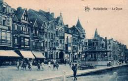 CPA - MIDDELKERKE - LA DIGUE (Kiosque) - Edition De Graeve - Middelkerke