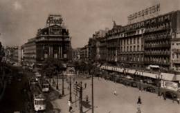 CPA - BRUXELLES - PLACE De BROUCKERE .... (tramways) - Edition , - Marktpleinen, Pleinen