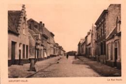 CPA - NIEUPORT - Ville - La RUE HAUTE - Edition Dumon - Nieuwpoort