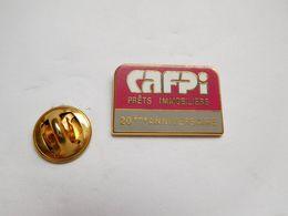 Beau Pin's En Zamac , CAFPI : Courtier En Prêt Immobilier Et Rachat De Crédits , Banque - Lebensmittel