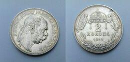 2 Korona 1912 Franz Joseph I ( Hongrie ) Qualité XF - Hungría