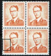 1074P3  Bloc 4  **  T 3  Pli Accordéon Sur épaule Et BE  T 4 Point Front - 1953-1972 Glasses