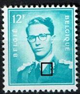 1371 P3  **  LV 6 Malfaçon à Gauche Des étoiles - 1953-1972 Glasses