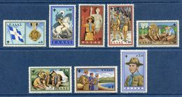 Grèce - YT N° 705 à 712 - Neuf Sans Charnière - 1960 - Unused Stamps