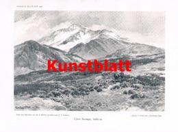 675 Fritz Reichert Compton Hochgebirge Atacama Cordillere Artikel Von 1906 !! - Nord- & Südamerika