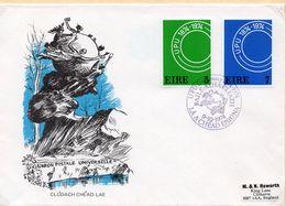 SOBRE 1r.DIA CENTENARIO UPU, 1974,  IRLANDA. MICHEL 309-310 - 1949-... Republic Of Ireland