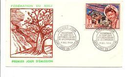 MALI FDC 1959 TRICENTENAIRE DE SAINT LOUIS - Mali (1959-...)