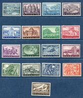 Grèce - YT N° 726 à 742 - Neuf Sans Charnière - 1961 - Greece