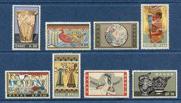 Grèce - YT N° 743 à 750 - Neuf Sans Charnière - 1961 - Greece
