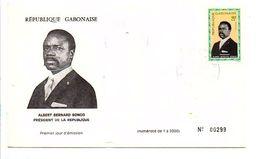 GABON FDC 1968 PRESIDENT BONGO - Gabon