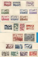 France- Poste Aérienne - Collection Entre N°5 Et N°59 - 3 Scan - Andere