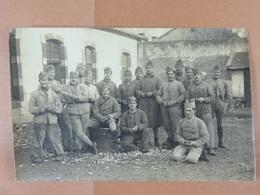 Groupe De Soldats Marcel Bossez De Jeumont - Guerre 1914-18