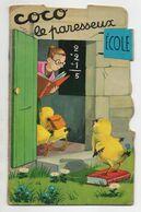 LIVRE ENFANT - COCO LE PARESSEUX - UN POUSSIN - ILLUSTRATEUR JEANNE LAGARDE - Livres, BD, Revues
