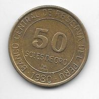 *peru 50 Sol 1980 Km  273 - Pérou