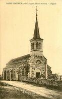 St Maurice , Près Langres * L'église Du Village - Frankreich