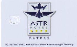 GREECE - Astir, Hotel Keycard, Sample(no Chip) - Chiavi Elettroniche Di Alberghi