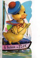LIVRE ENFANT - LE BATEAU DE FLOC - LE PETIT CANARD - ILLUSTRATEUR JEANNE LAGARDE - Livres, BD, Revues