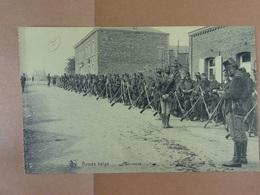 Armée Belge Halte-repos - Régiments