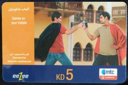 KUWAIT - 5 KD -eeZee Mtc Vodafone - Saudi-Arabien