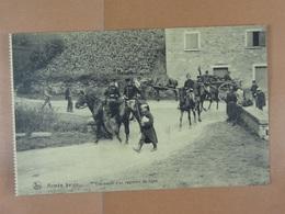 Armée Belge Etat-major D'un Régiment De Ligne - Régiments