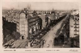 CPA - BARCELONA - AVENIDA 14 De ABRIL - Edition A.Zerkowitz - Barcelona
