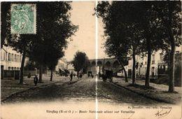 78 . VIROFLAY . ROUTE NATIONALE ALLANT SUR VERSAILLES   .. 1904.    ( Trait Blanc Pas Sur L'original ) - Viroflay