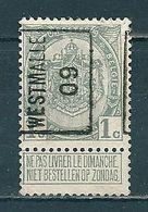 1353 Voorafstempeling Op Nr 81 - WESTMALLE 09 -  Positie A - Roller Precancels 1900-09