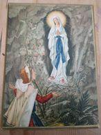 Lourdes 1957 Overijse Missionarissen Van Steyl Lourdesjaar 20 Op 25 Cm - Religion & Esotérisme