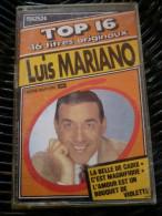 Luis Mariano: TOP 16: La Belle De Cadix/ Cassette EMI 1562524 - Audiokassetten